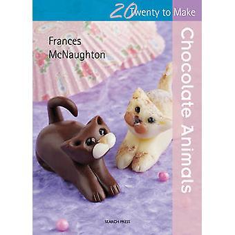 Animaux au chocolat par Frances McNaughton - livre 9781844488452