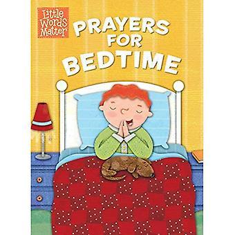 Prayers for Bedtime (Padded Board Book) (Little Words Matter)
