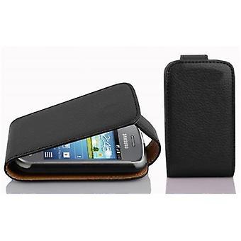 Cadorabo Case voor Samsung Galaxy POCKET NEO Case cover-telefoon geval in flip design in getextureerde faux leder-gevaldekking van geval geval Case boek vouwen stijl