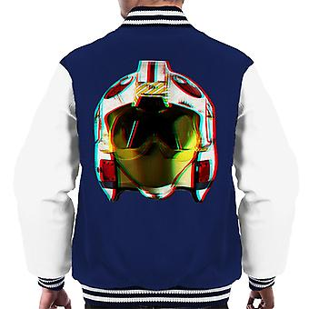 Original Stormtrooper Rebel Pilot Helmet 3D Effect Men's Varsity Jacket