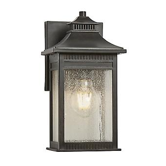 Elstead - 1 Light Small Wall Lantern - Imperial Bronze Finish - QZ/LIVINGSTON2/S
