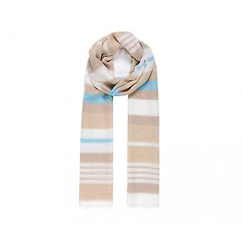Intrigue Womens/Ladies Stripy Woven Scarf