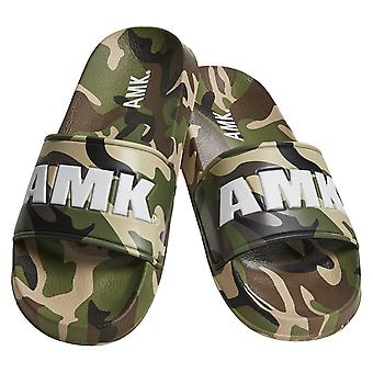 AMK slippers-Soldier Slides camouflage