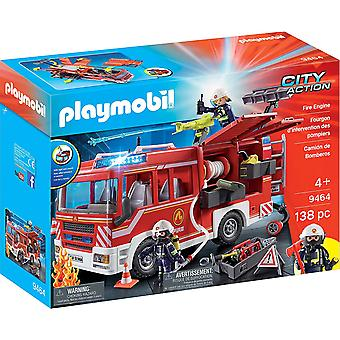 Playmobil 9464 City Action Fire Engine with Working Water Cannon