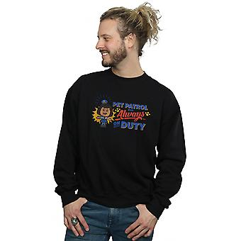 Disney Men's Toy Story 4 Giggle McDimples Pet Patrol Sweatshirt