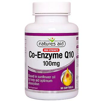 Nature's Aid CO-Q-10 100mg (Co-Enzyme Q10) Softgels 90 (125230)