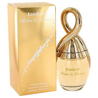 Bebe wishes & dreams eau de parfum spray by bebe 502082 100 ml