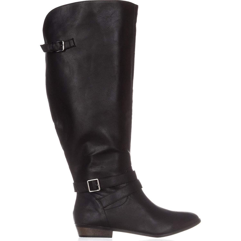 Material Girl Womens Carleigh Almond Toe Knee High Fashion Boots
