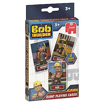 Jumbo Bob The Builder Giant Playing Cards