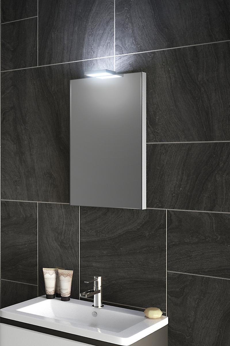 RGB Top Light Mirror with Sensor and Shaver Socket k486rgb