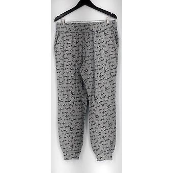 Anybody Lounge Pants, Sleep Shorts Loungewear Cozy Knit Pant Gray A296084