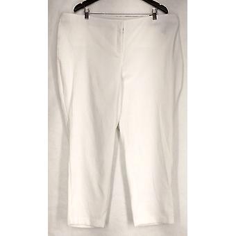 アルファニプラスパンツジャカード織りパイソンホワイトウーマン
