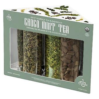 Tea It Yourself Kit Mezcla De Tés Verdes Choco-Mint