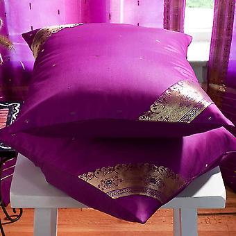 Violett rot - handgefertigte Kissen decken, Wurfkissen Fall Euro Schein-6 Größen