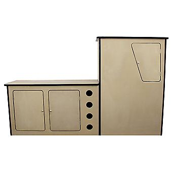 VW T4 Transporter Motorhome Camper Van MDF Kitchen Cupboard Unit Pod