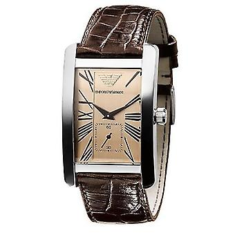Emporio Armani Ar0154-Herre klassisk læderstrop designer Watch