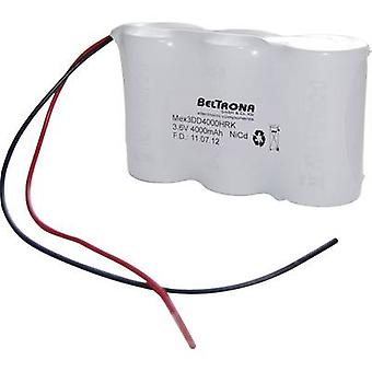 Beltrona 3DD4000HRK Emergency light battery Cable 3.6 V 4000 mAh