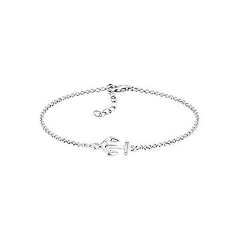 Elli Women's Bracelet in Silver 925 with Anchor
