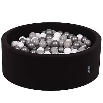 Kiddymoon Baby Foam Ball Pit With Balls 7Cm / 2.75In Certified Made In EU