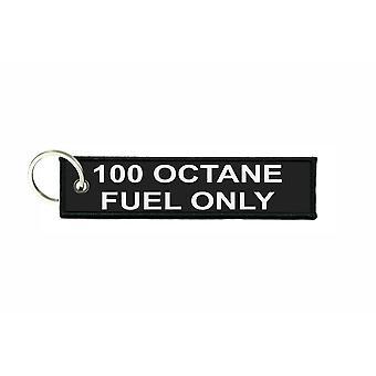 Llavero de aviación llavero avión de combustible para automóviles de 100 octanos de combustible solamente