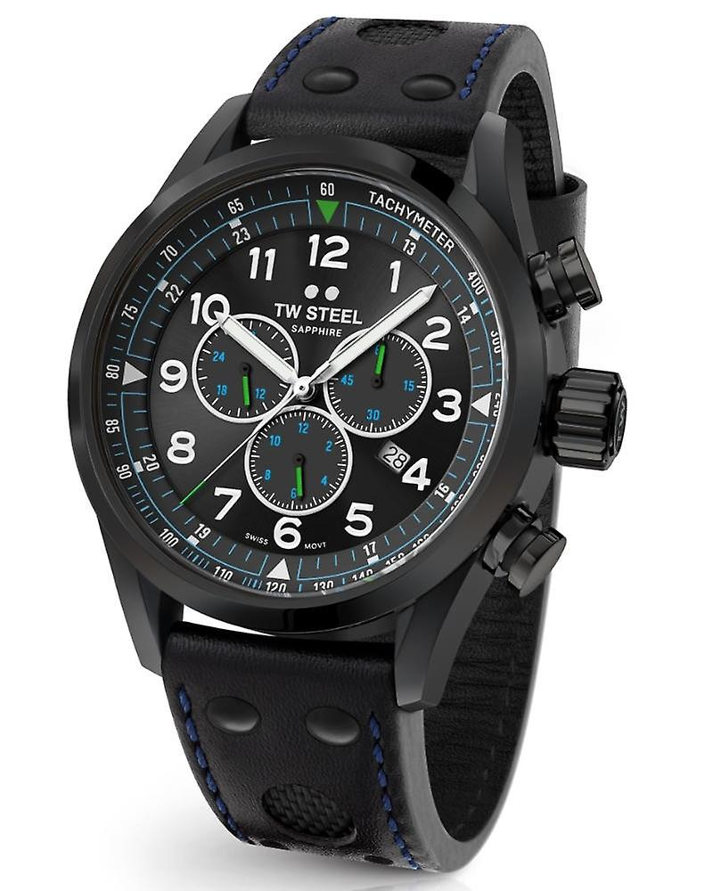 Tw Steel Swiss Volante Svs306 Petter Solberg Edition Chronograph watch 48mm