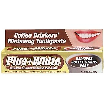 Health Aid Plus + White Coffee Drinkers Whitening Toothpaste (100g)