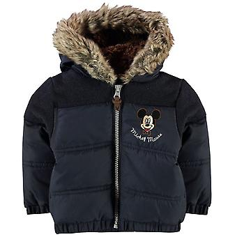 Character Kids Childrens Padded Hooded Warm Coat Winter Outerwear