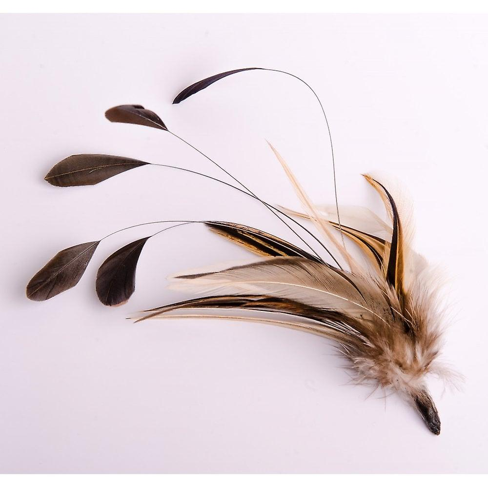 Elm Of Burford Hackle Coque Feather Hat Mount
