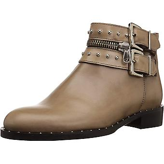 Charles David Womens Chief Leather Almond Toe Ankle Fashion Boots