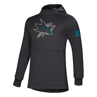 Adidas NHL San Jose Sharks Player pullover Hood