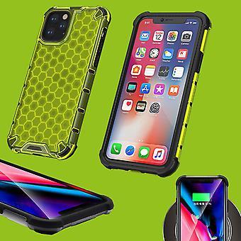 Para Apple iPhone 11 Pro 5.8 pulgadas caso de silicona choque híbrido TPU protección verde caso de caja de funda accesorios nuevos