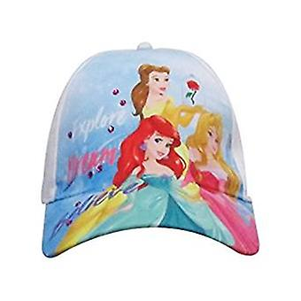 Baseball Cap - Disney - Princess - Belle, Aurora & Ariel Kids/Girls New 337497