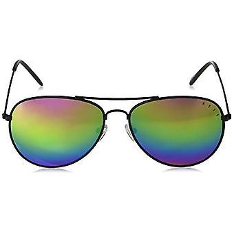 neff Adult's Bronz Aviator Sunglasses UVA, Gloss Black/Rainbow, Size One Size