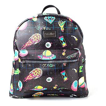 Rick And Morty Space Sublimation All-Over Print Ladies Sac à dos Casual Daypack