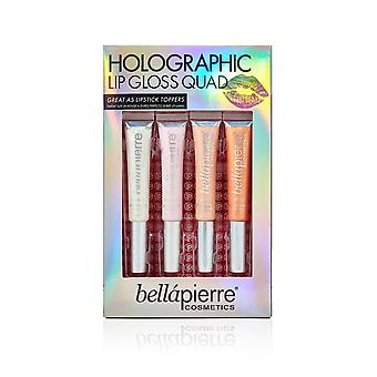 Giftset Bellapierre holografische lip gloss Quad
