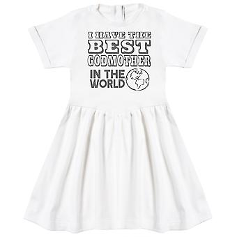 I Have The Best GodMother In The World Baby Dress