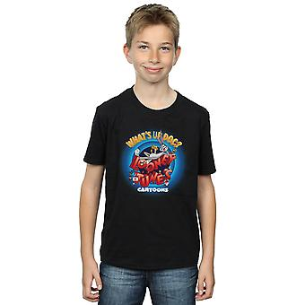 Looney Tunes Boys Cartoons What's Up Doc Circle T-Shirt