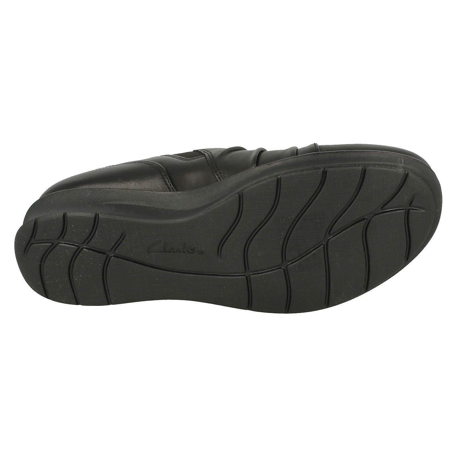 Ladies Clarks kile hæl sko håp Roxanne