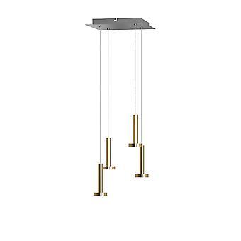 Gemini 4 Mini hanger verlichting Brass