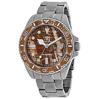 Christian Van Sant Men-apos;s Brown Dial Watch - CV5101