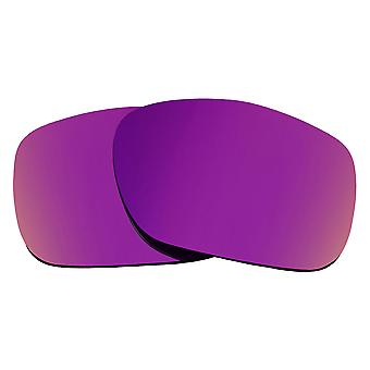 SEEK Replacement Lenses Compatible for Oakley TWOFACE Polarized Purple Mirror