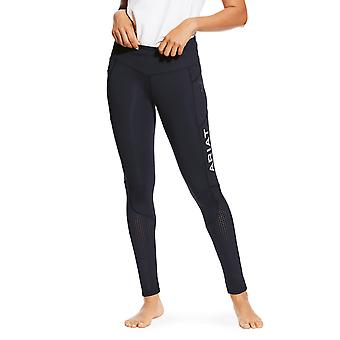 Ariat Eos Womens Knee Patch Tight - Navy Blue