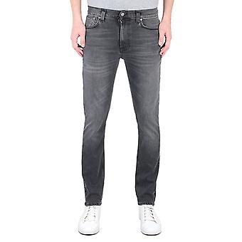 Nudie Jeans Co Lean Dean Slim Fit Monogrey Denim Jeans