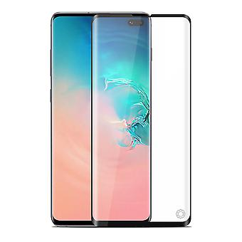 Force Glass Samsung Galaxy S10 Plus Tempered Glass Screen Black Life Guaranteed