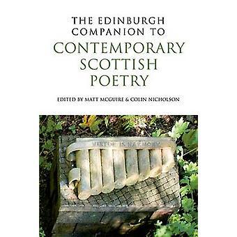 Edinburgh Companion to Contemporary Scottish Poetry av Edited av Colin Nicholson & Edited av Matt McGuire