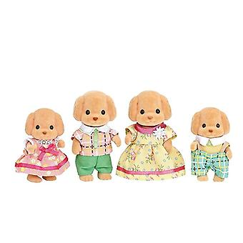 Sylvanian Families Toy Poodle Family Set