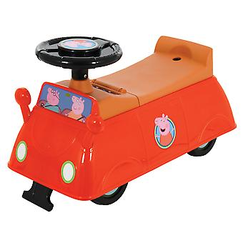 Peppa Pig Car Ride-on Push Along Red MV Sports Ages 1 Years+