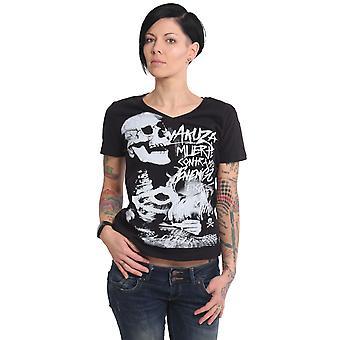 YAKUZA Women's T-Shirt Muerte V Neck