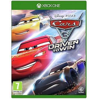 Autók 3 hajtott nyerni Xbox egy játék