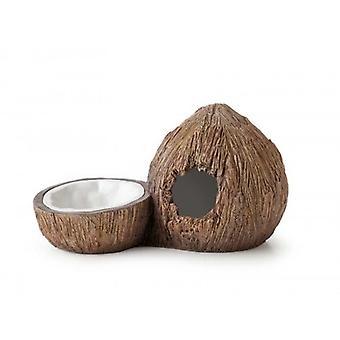 Exo Terra  Bebedero/Cueva Coco (Reptiles , Bowls, Feeders & Water Dispensers)